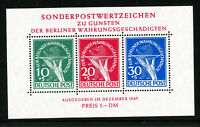 Germany Stamps # 9NB3A XF OG NH Intact Stamp Sheet Scott Value $1,200.00