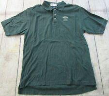 NICE Walt Disney World Animal Kingdom Green Short Sleeve Polo Shirt Men's Large