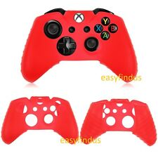 for Xbox one or Xbox S Controller red Silicon skin cover Case shield new slim