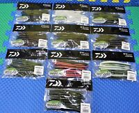 Daiwa Gary Yamamoto Custom Baits 10 Pk NF-5 Series NEKO FAT NF-5 CHOOSE UR COLOR