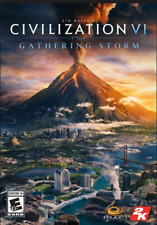 Sid Meier's Civilization VI: Gathering Storm PC & Mac [Steam Key]  NO DISC