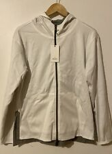 Rolex jacket reversible gray and white  new never used size M