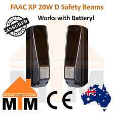 FAAC XP 20W D Safety Beams Battery Safety Sensors for Garage Gate Photocell