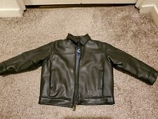 KENNETH COLE REACTION KIDS FAUX LEATHER JACKET SIZE 18M