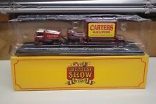 CARTERS FODEN GENERATOR AND LOW LOADER  ATLAS GREATEST SHOW DIECAST (T3)
