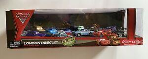 Disney Cars 2 - LONDON RESCUE 12-CAR GIFT PACK - TARGET (2012) - Retired / VHTF