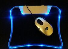 USB HUB MOUSE PAD WITH ILLUMINANT LED LIGHT