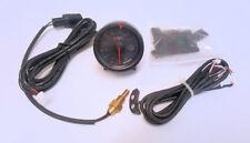 D1 Spec 60mm Black Face Water Temperature Gauge *Genuine Item*