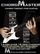 Chordmaster Chord Theory for Guitar by Michael Ellis (2010, Paperback)