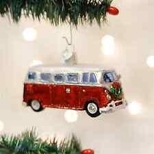*Camper Van* VW Volkswagen Bus [46042] Old World Christmas Glass Ornament - NEW