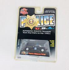 Racing Champions 1997 Chevy Corvette # 80 Florida Police USA   1/64 scale