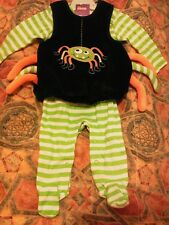 Baby halloween outfit, Fancy Dress spider, 0-3 months. Bnwt.