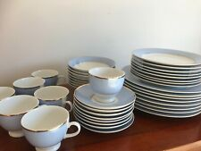 Royal Doulton - Bruce Oldfield  - Powder Blue, White and Gold - Assorted Items