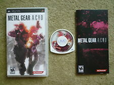 --- (Sony PSP) METAL GEAR ACID * NTSC-U/C ---