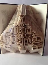 Christmas Tree  Combination Cut And Fold Book folding pattern. 549 Pages.  #2054