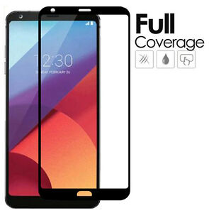 Full Screen Cover Tempered Glass Screen Protector For LG G6 / LG G6 Plus