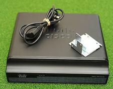 Cisco 1941 CISCO1941-SEC/K9 Integrated Services Router IOS15 -  1 YrWty / TxInv