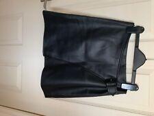 New Karen Millen faux leather mini skirt size 8