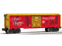 LIONEL 6-81316 PERSONALIZED CHRISTMAS MESSAGE BOXCAR TRAIN O GAUGE SANTA HOLIDAY