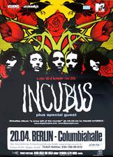 Inkubus 2004 Tour Berlin Deutschland Promo Poster 33 x 23-1/2