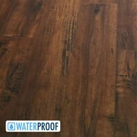 SAMPLE Rich and Rustic Waterproof Click Improved Laminate Flooring - Wynwood 8.5