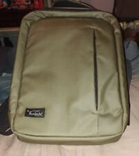 Very Nice Incipio Backpack Computer Bag Olive Green