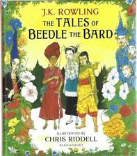 The Tales of Beedle the Bard J.K. Rowling Illustrated & SIGNED by Chris Riddell