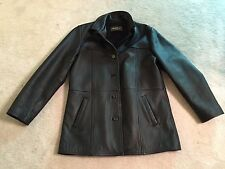 EDDIE BAUER Authentic Outdoor Outfitters Thinsulate Leather Jacket Coat Small