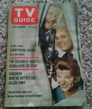 Vintage 1963 Candid Camera TV Guide Vol 11 #25 classic TV show Allen Funt