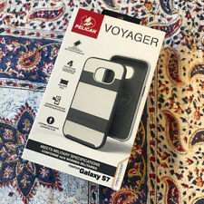 Pelican Voyager Case Holster Shock Proof for Samsung Galaxy S7 - White / Grey