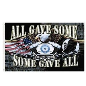 3'X5' ALL GAVE SOME, SOME GAVE ALL POW/MIA FLAG *EAGLE 044