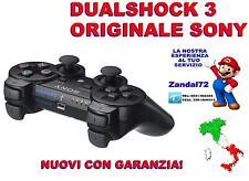 CONTROLLER SIXAXIS DUALSHOCK 3 SONY ORIGINALE PS3 NERO JOYPAD WIRELESS GAMEPAD