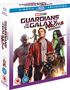 GUARDIANS OF THE GALAXY Vol. 1 & 2 [Blu-ray Box Set] Complete Collection Marvel
