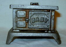 "Antique Home Miniature ""BABY"" Cast Iron Wood Stove"