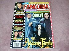 FANGORIA # 109 - Addams Family, Clive Barker talks, Free shipping in USA