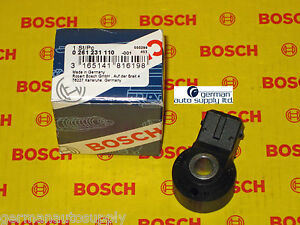 Mercedes-Benz Knock, Detonation Sensor - BOSCH - 0261231110 - NEW OEM MB