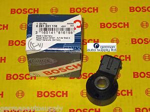 Mercedes-Benz Knock, Detonation Sensor - BOSCH - 0261231110 - NEW OEM MB
