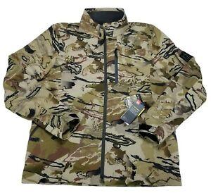 Under Armour Storm Ridge Reaper Raider Barren Camo Jacket Men's Size L 1316960