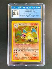Charizard 4/102 Holo - Base Set Unlimited 1999 - CGC 8.5 - Awesome Subgrades