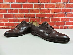 Paul Smith Mens Shoes Oxford Caps Brown UK 7 US 8 E 41 Hand made in Italy