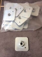 FIA / MSA Approved Racing Harness / Seat Belt Mounting Backing Plate