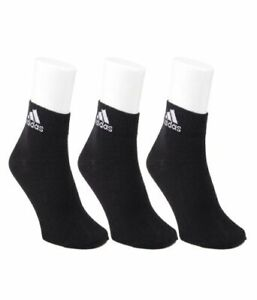 Half Cushion Crew Black Socks Pack of 3