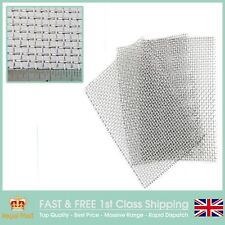 Super Heavy #6 x 1.2mm Wire Stainless Steel Mesh 3 PACK =A5 Sheet 150 x 210mmx3