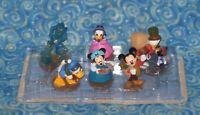 Disney Store Mickey's Christmas Carol PVC Figurine 6 Figure Playset Set 2015
