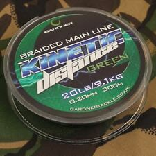 Gardner Kinetic Distance Braided Main Line / Carp Fishing