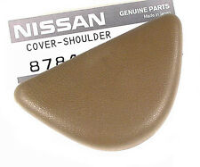 300ZX (Z32) Seat Belt Bolt Cover / Finisher, Tan, 1990-96, LAST ONE, OEM NEW