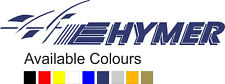 HYMER MOTORHOME | Large | Sticker-Decal-Graphic | Front Rear |FREE POST|(BB095)
