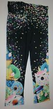 New Justice Girls 14 16 Plus year Pedal Leggings Amazing Cupcakes Stars Stretch