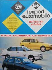 SEAT IBIZA 93 et CORDOBA essence et diesel  REVUE TECHNIQUE RTA EXPERT 326 1995