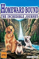 Homeward Bound - The Incredible Journey (DVD, 1999)